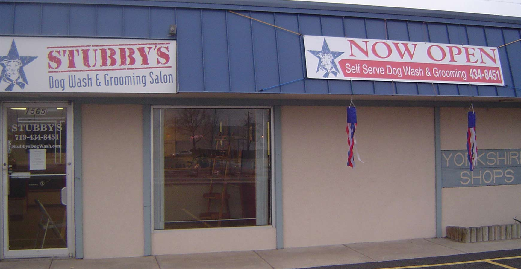 Exterior of Stubby's Dog Wash
